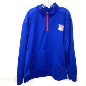 NHL | New York Rangers 1/4 Zip Sweatshirt XL
